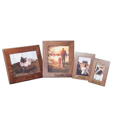 "Personalised Walnut Picture Frame 4"" x 6"""