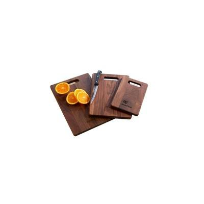 Customisable Walnet Cutting Board with Handle Medium