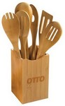 Picture of 7-Piece Bamboo Utensil Set