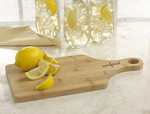 Picture of E Z Hold Bamboo Cutting Board