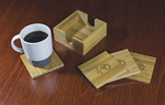 Picture of Bamboo Coaster Set